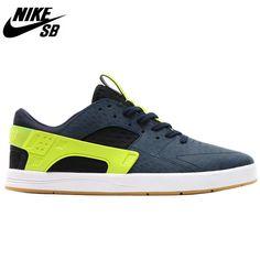 Nike SB Eric Koston Huarache - Dark Obsidian/Cyber/Gum Light Brown/Black