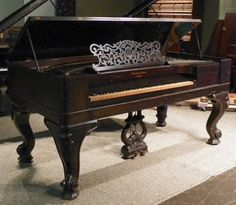 Steinway & Sons Piano  1875 I've always wanted a square grand ....