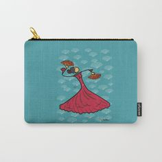 Buy Flamenco dancer Carry-All Pouch by giuseppelentini. Worldwide shipping available at Society6.com. Just one of millions of high quality products available.