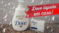 Como fazer sabonete Dove líquido em casa com R$1,50! Rende 400ml!