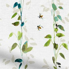 Secret Garden Bluegrass Roller Blind