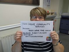 @SCWeek2015 #ILoveSmallCharities @HopeCommunityServices