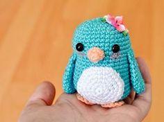Tutoriales DIY: Cómo hacer un pingüino de amigurumi vía DaWanda.com