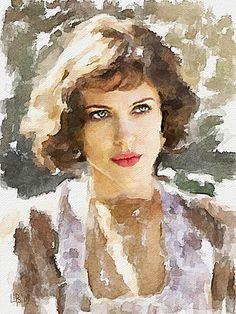Digital watercolor by Vitaly Shchukin #watercolor jd