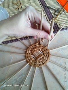 Плетение из газет. Чайные чашки. Мастер-класс (9) (360x480, 105Kb)