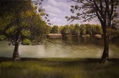 #art #painting #oilpainting #Tisza-tó #Tiszafüred
