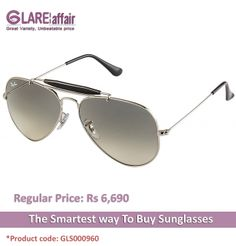 RAY-BAN RB3407 003/32 SIZE:58 SILVER GREY GRADIENT AVIATOR SUNGLASSES http://www.glareaffair.com/sunglasses/ray-ban-rb3407-003-32-size-58-silver-grey-gradient-aviator-sunglasses.html  Brand : Ray-Ban  Rs6,690