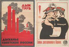 Propaganda posters of the Russian Civil War, 1918-1922
