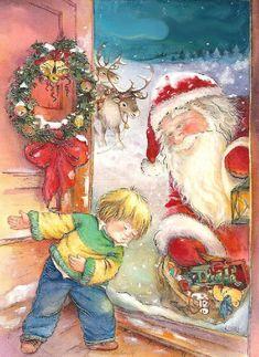 "Photo from album ""Lisi Martin Christmas Cards"" on Yandex. Spanish Christmas, Cosy Christmas, Christmas Scenes, Christmas Pictures, Christmas And New Year, All Things Christmas, Christmas Holidays, Christmas Cards, Xmas"