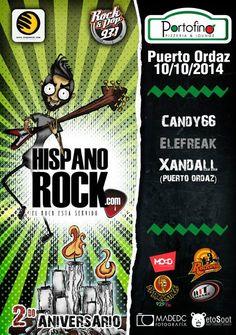 Cresta Metálica Producciones » 2do Aniversario de Hispanorock en Caracas y Puerto Ordaz