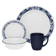 Corelle® Livingware™ True Blue 16-pc Dinnerware Set - Corelle