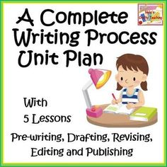Writing Process Unit Plan with 5 Lessons. This engaging unit for descriptive writing takes students through the stages of writing from start to finish, by developing and refining their own ideas into a well published final product.  Descriptive Writing is a means of expressing one's environment through the perceptions of his senses.
