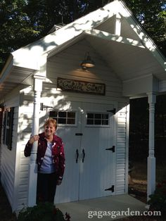 a teacher s dream garden shed, curb appeal, gardening, outdoor living, Barb Kingery s Dream Potting Shed
