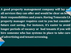 http://www.realtywrks.com/ - You can cut the cost of your Temecula CA property management. First thing to do is to have a mindset that money saving does not mean giving cheap services to tenants.A good property management company will lay out all services they can offer and would be clear on both their responsibilities and yours. For immediate and reliable assistance in managing your properties call me, Sidney Kutchuck, today at 951-217-6745