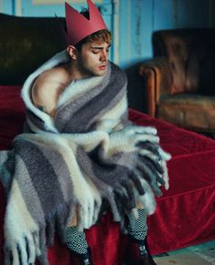 Xavier Dolan, photographed by Shayne Laverdière for L'Uomo Vogue, Dec 2014. R