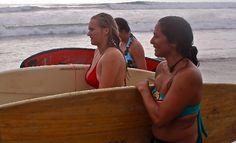 Surf yoga program in Ecuador. More info send us an email info@ecuamed.com
