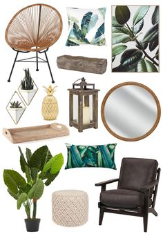 Nothing says spring like a bit of greenery! This spring why not introduce junglecolours, textures and decorative items to your decor. Natural textures like wicket, rattan, wood, and jute are an excellent neutral base layer, while bright and vibrant tropical prints & motifs turn your room into a jungle retreat.
