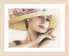 Lanarte Kit - Lady With Hat – Stoney Creek Online Store
