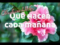 Qué hacer cada mañana al despertar ~ Abraham-Hicks español - YouTube