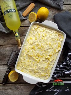 Limoncello, Macaroni And Cheese, Food And Drink, Ice Cream, Sweets, Ethnic Recipes, Cakes, Pastries, Pie