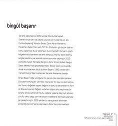 """Bingül Başarır  """"ZAMANIN İZİNDE"""" Çağdaş Seramik Sergisi, 2012 (Erdinç Bakla archive)"""