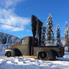 Truck 47 mercury cummins diesel
