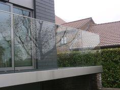 Glas leuning, modern, outdoor