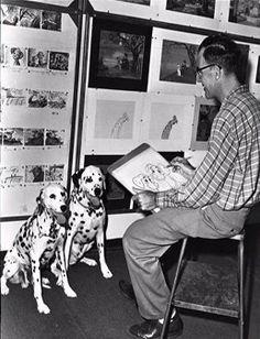 Walt Disney loved Dalmatians too.