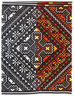 FolkCostume: Nyzynka embroidery of western Ukraine