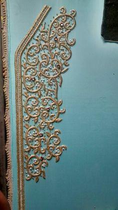 Turquoise 2016 elegance caftan journey