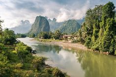 Puttering down jungle rivers, scaling mist-laced mountain roads, ziplining across treetops, and sitting roadside with a steaming bowl of noodles: it's all possible in one week in Laos without losing that special sense of calm the country brings.