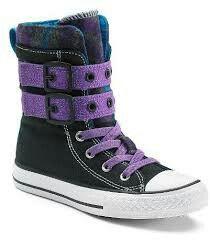 f44a3fe5734b Kid s Converse All Star Glendale X-Hi High-Top Sneakers