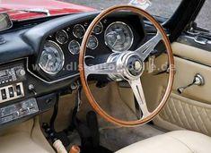 1965 Maserati Mistral - 3500 Spider, one of 12 RHD, one of 112 overall Ferrari California, Classic Sports Cars, Maserati, Interior, Autos, Convertible, Indoor, Interiors
