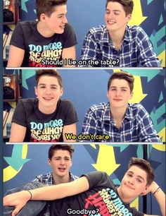 jack and finn dont care...
