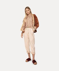 a feminine romantic take on the padded bomber jacket for a contemporary look. crafted from corduroy with horizontal ribbing in a warm russet shade, it features a shawl collar with a contrasting insert in a jacquard fabric and gypsy-style fringing. Roll Neck Sweater, Jacquard Fabric, Modern Bohemian, Gypsy Style, Cotton Silk, Boho Outfits, Unique Fashion, Summer Collection, Poplin
