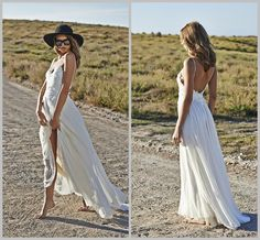 Sexy 2015 Boho Beach Bridal Gowns Sweetheart Appliques Lace Spaghetti Straps Floor Length Cheap Chiffon Backless Evening Party Bridal Gowns The Wedding Dresses Vintage A Line Wedding Dresses From Jovancy, $90.95| Dhgate.Com