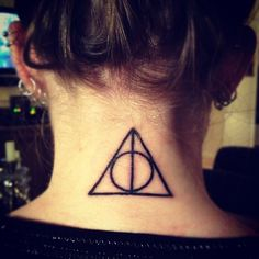 Deathly Hollows tattoo(: