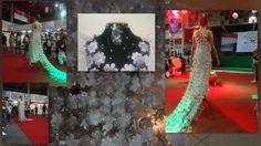 Vestido de noiva criado pela designer Josiane Moura para a Semana do Meio Ambiente 2013 em Duque de Caxias Rio de janeiro. Todo produzido com fundos de garrafa pet, napas de descarte de uma fábrica de calçados e pérolas reaproveitadas de um colar usado.