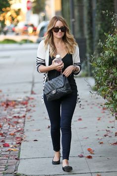 Lauren Conrad Visits a Spa in LA
