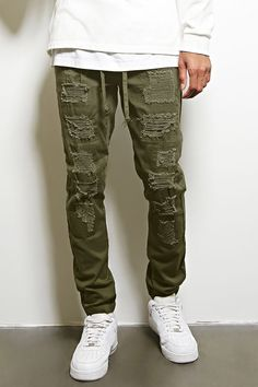 Victorious Distressed Joggers