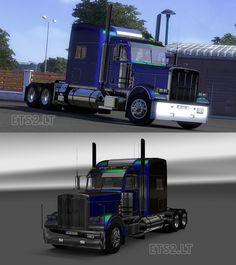 Euro Truck Simulator 2 Peterbilt 389 Metalik Skin