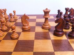 Staunton is the name given to this particular style of chess piece which was designed by Nathaniel Cook and named after Howard Staunton.  All the