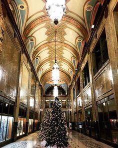 Christmas Time  #detroit #fisherbuilding #christmasindetroit #detroitlove
