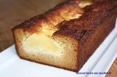 Cake van amandelmeel met honing en appel - Gezond leven van Jacoline