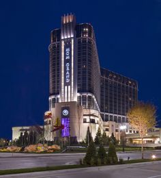 The MGM Grand Resort & Casino in Detroit, Michigan with over 90 table games and more than 4,500 of the latest slots and video poker.