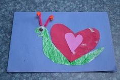 More 'love bug' crafts to do with the little ones!