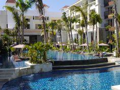 Swiss-Belresort Watu Jimbar, Bali. Just opened. Nice pool!