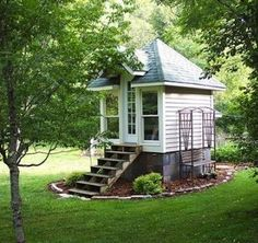 I have wanted a playhouse like this since I was 10!!!! Now I would love it as a studio or a guest house.