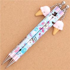 blue ghost sweets Halloween mechanical pencil from Japan