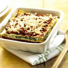 Recept van de week: Blitse lasagna Quorn, Seitan, Macaroni And Cheese, Foodies, Ricotta, Veggies, Tofu, Pasta, Bread